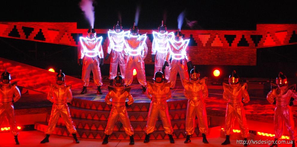 Clay Paky запалює Таємниці Моря в Катарі