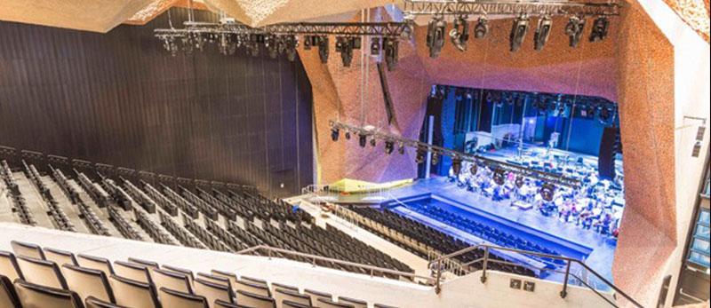 Philips Vari-Lite займає центральне місце у новому сучасному конгрес-центрі  Jordanki