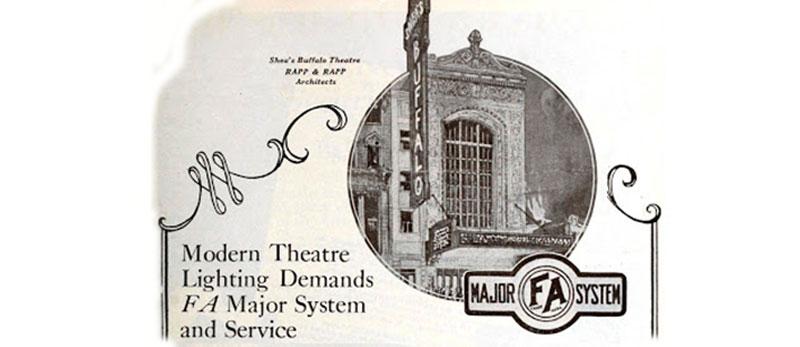 Одна из историй винтажного оборудования для театра