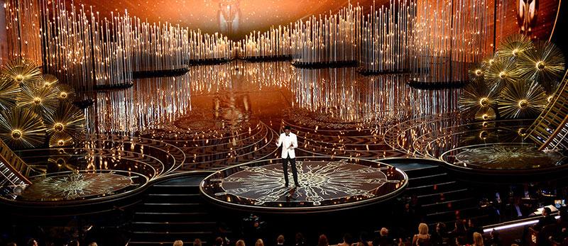 План освітлення 88-мої церемонії нагородження премією Оскар.