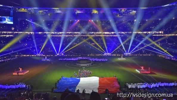 Більше 230 приладів  Robe для ефектного видовища з відкриття нового стадіону у Ліоні