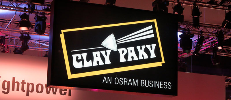 Clay Paky  на Prolight &Sound2016