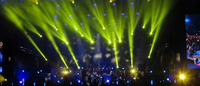 """Наймасштабніший  концерт в місті Києві на НСК Олімпійський гурту """"Океан Ельзи"""""""