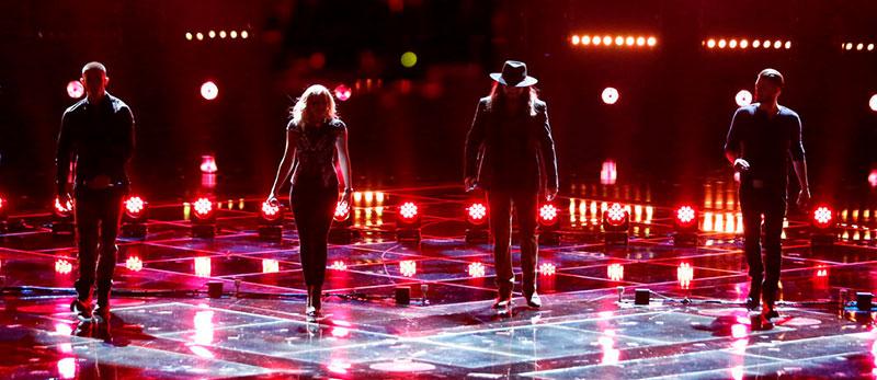 "За лаштунками ""The Voice"" разом з дизайнером світла Оскаром Домінгесом"