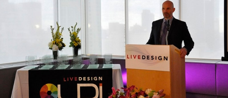 Церемонія нагородження Live Design 2016.Частина 1