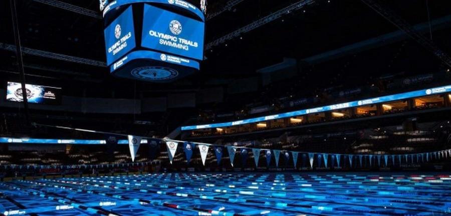 Chamsys під рукою, щоб висвітлити Олімпійські випробування з плавання