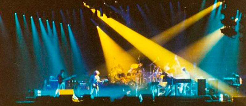 Революції в концертному освітленні - 35 років