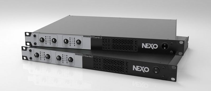 New range of NEXO amplifiers for new TD processors