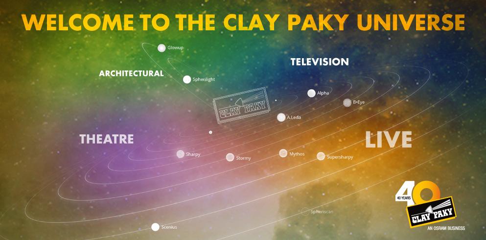 Clay Paky на Prolight + Sound 2016 року