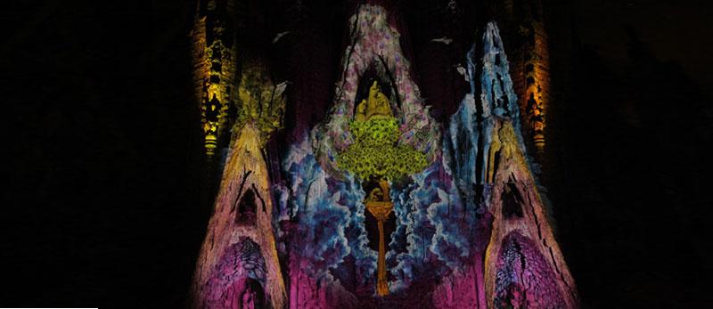 Найвідоміша будівля Барселони, Sagrada Familia, отримує ефектне освітлення