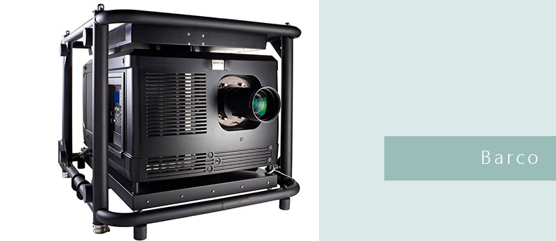 На пісенному конкурсі Євробачення в Стокгольмі використовували проектори Barco, системи рухомих дзеркал HES MMS-200